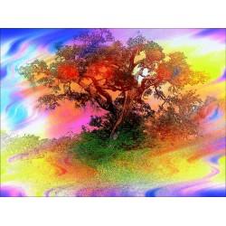 Картина - Абстрактно дърво