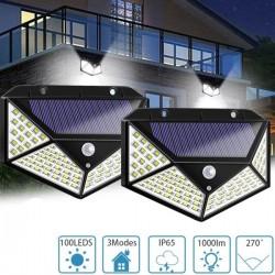 1 Брой 270 ° Водоустойчива градинска соларна лампа
