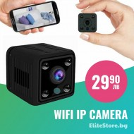 WI-FI широкоъгълна MINI камера
