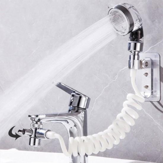Турмалинов универсален разпределител на вода с душ слушалка